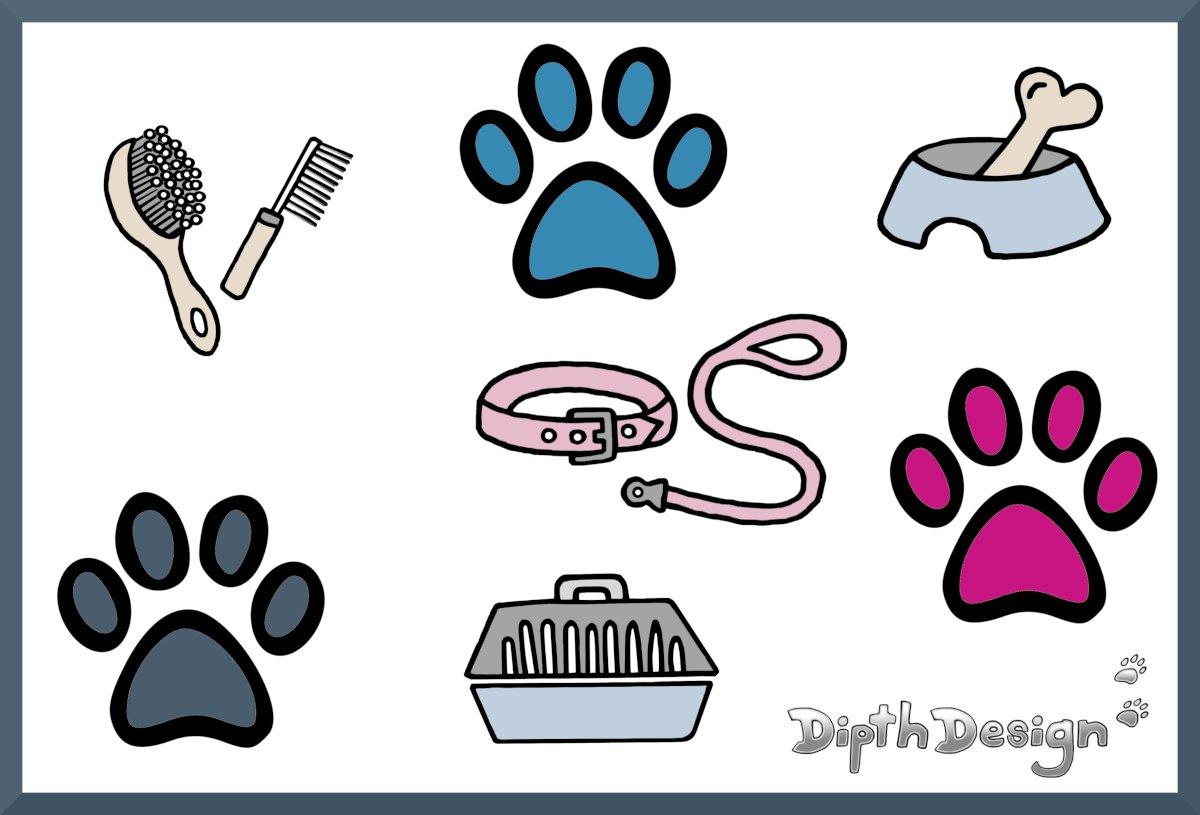 DipthDesign Dog Collar Shop Basic equipment for dogs – checklist
