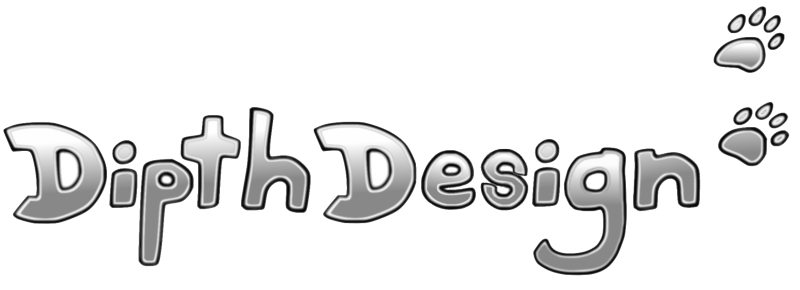 DipthDesign Hundehalsband Shop Logo