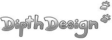 Hundehalsband Shop DipthDesign Logo