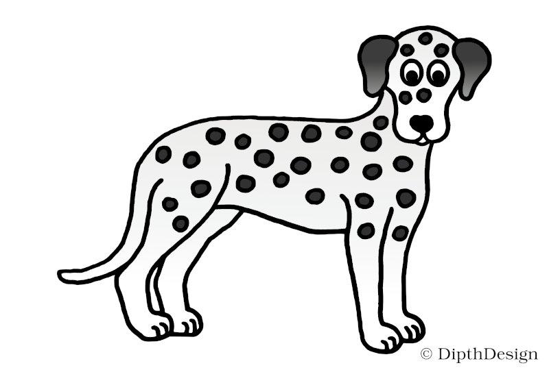 DipthDesign Design Hundehalsband Shop - Fellpflege für Hunde - Fell richtig pflegen - Kurzhaar Dalmatiner