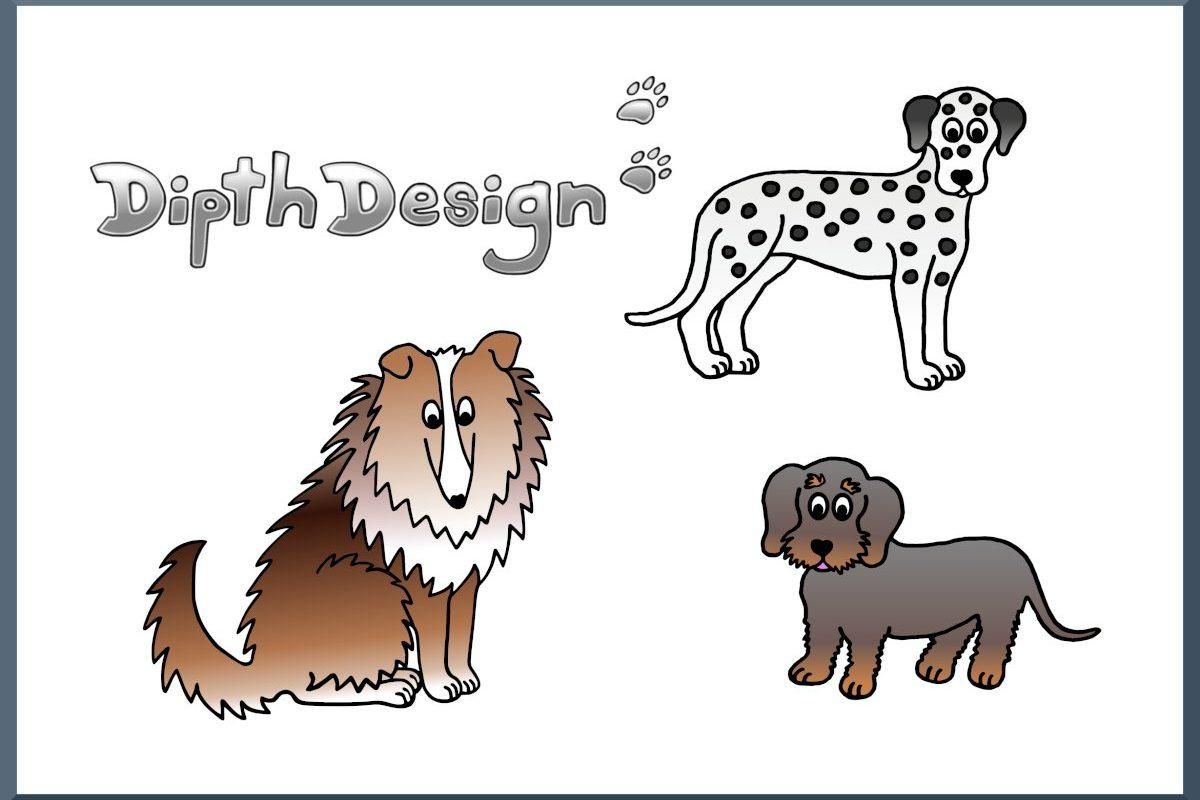 DipthDesign Design Hundehalsband Shop - Fellpflege für Hunde - Fell richtig pflegen
