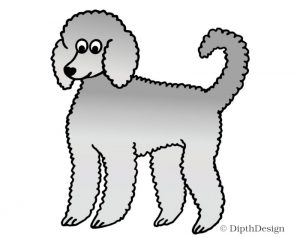 DipthDesign Design Hundehalsband Shop - Fellpflege für Hunde - Fell richtig pflegen - Wolliges Fell Pudel Locken