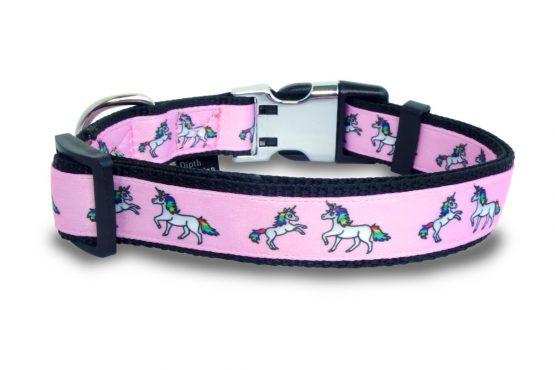 Halsband Hundehalsband Design Einhorn