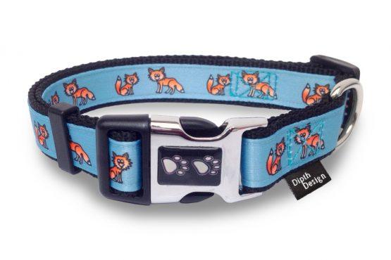 DipthDesign Hundehalsband Fuchs Design Hundehalsbänder