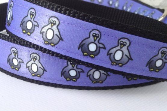 Halsband und Leine Pinguin