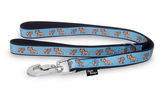 Hundeleine Fuchs Design Leine und Halsband