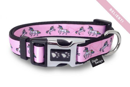 Hundehalsband Einhorn Design Hundehalsbänder