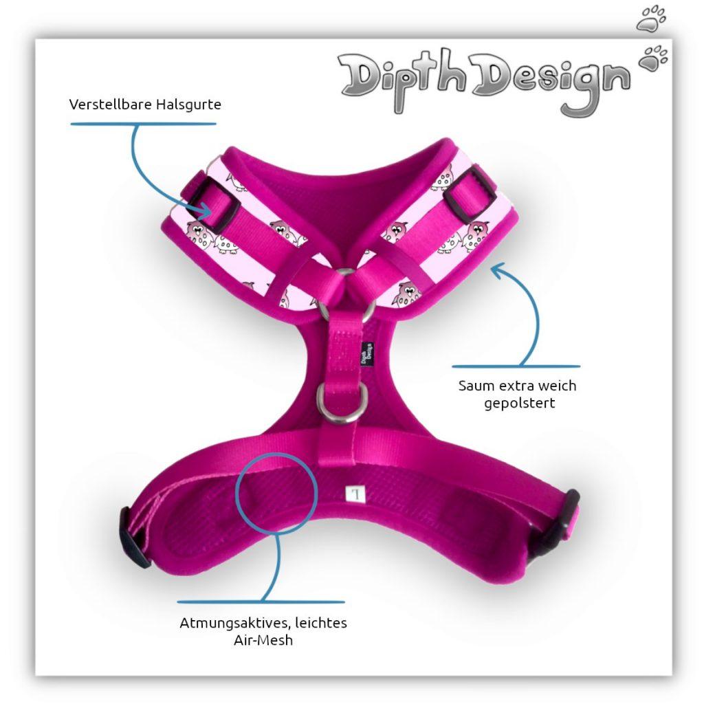 Hundehalsband mit Leine Set Hundehalsbänder Softgeschirr