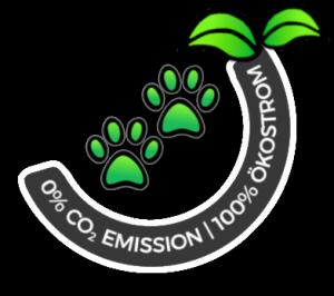Hundehalsband Hundehalsbänder-Shop nachhaltig Ökostrom Logo