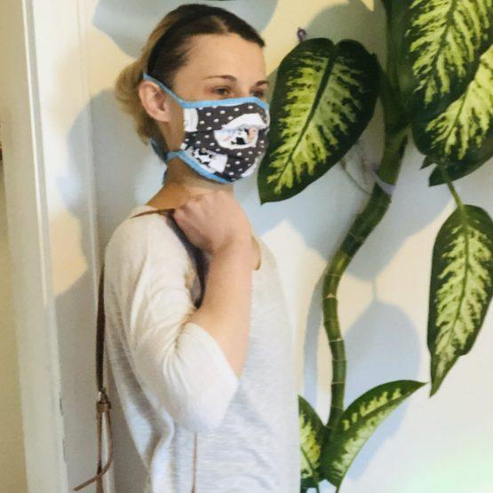 Mund Nasen Masken Baumwollmasken Stoff